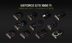 NVIDIA представила новую видеокарту – GTX 1660 Ti
